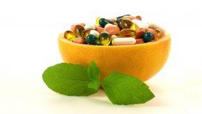 Grapefruit mit Medikamenten