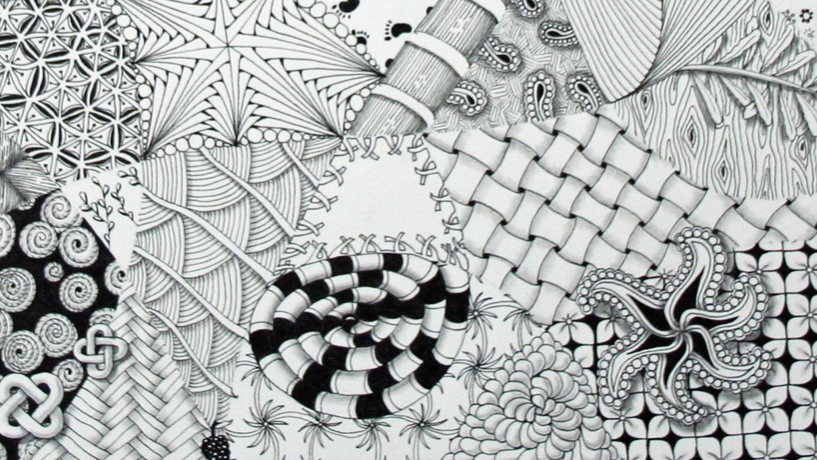 Zentangle Eine Besondere Entspannungstechnik Evidero