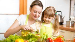 Kinder müssen gesund essen