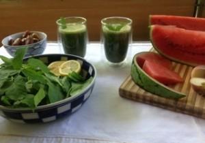 Smoothierezept mit Melone © Andrea Nossem