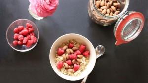 Quinoa-Beeren-Müsli