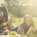 Mit dem Roller zum Picknick