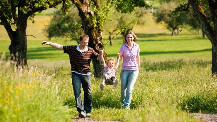 Spazierengehen ist gesund