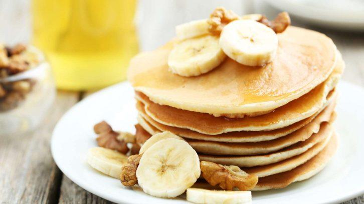 rezept f r vegane pancakes die gesunde alternative zur kalorienbombe evidero. Black Bedroom Furniture Sets. Home Design Ideas