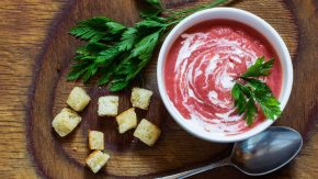 Rote Bete Creme Suppe