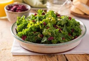 Salat mit Cranberries