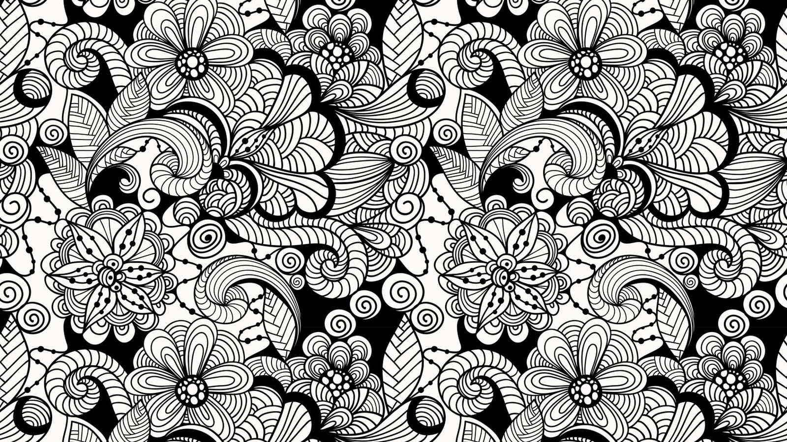 Zentangle Beseelt Und Entspannt Zeichnen über Die Berühmte