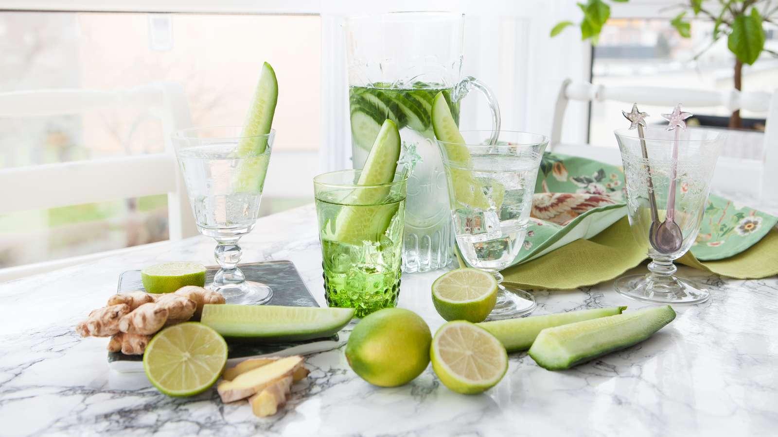 Gurkenwasser Rezepte zum Abnehmen | evidero