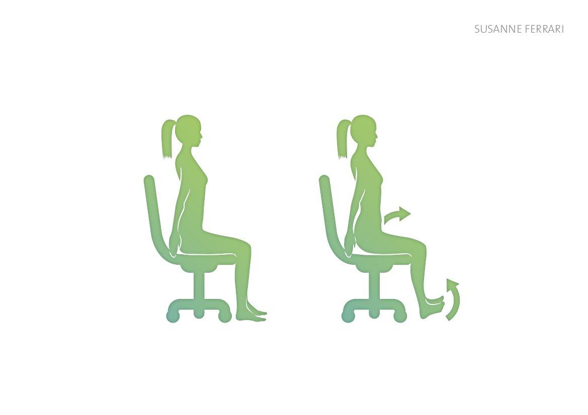 Einfache übungen Für Den Rücken Im Büro Evidero